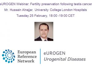 eUROGEN Webinar: Fertility preservation following testis cancer
