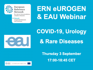 ERN eUROGEN & EAU Webinar: COVID-19 & Urology